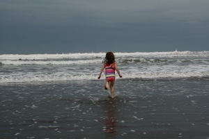 Brave Molly at Playa Negra