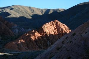 View from the Cerro de los Siete Colores, Purmamarca