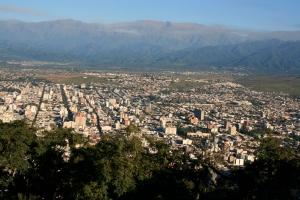 City view from Cerro San Bernardo